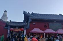 清晨朝拜五爷庙的人群如潮涌。这里是五台山香火最旺的寺院,虽然多数人来这里是向五爷求财的,但这里烧香却
