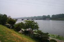 早晨的新沂市,沭河之畔
