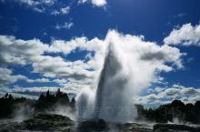 新西兰间歇泉,美国黄石公园间歇泉和冰岛间歇泉是世界上三大间歇泉,有幸一睹风采!