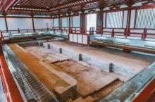唐华清宫御汤遗址博物馆  这里是杨贵妃与唐明皇泡汤之所,也是华清宫人气最高的一个地方,每一个汤池都有