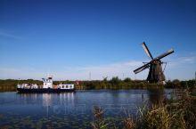 莱茵河之旅——小孩堤防风车群,列入联合国科教文组织世界遗产名录的荷兰最知名景点之一(8)。