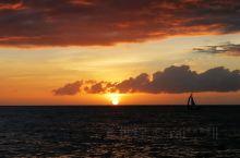 长滩岛落日风帆
