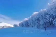 冬日乌兰布统,冰雪世界