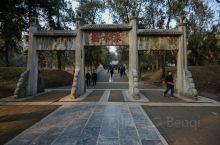 """孔林,又称至圣林,位于山东省曲阜市城北1.5千米处,是孔子及其后裔的家族墓地,与孔府、孔庙统称""""三孔"""