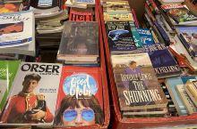 苏比克超市二手书售卖的地方,真的便宜