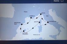 MSC鸿图号邮轮地中海巡游,米兰-热那亚-罗马—阿雅克肖- 帕尔马—巴塞罗那-马赛-热那亚—摩纳哥-
