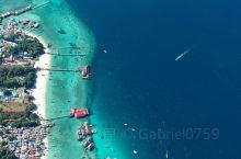 上帝视角下的马布岛 马布岛Mabul位于马来西亚仙本那,船程约一小时,上岛要30马币,经济条件好的可