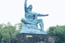 坐标长崎 和平公园 日本长崎在二战时期遭到了原子弹袭击,造成超过14万人死亡,当时的总人口30万左右