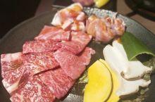 【焼肉ホルモンけむり家】高松城很不错的烧肉店,特别喜欢这里的牛舌,很嫩,推荐和牛套餐,牛肉、五花肉都