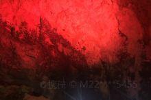 织金洞中的山水画。