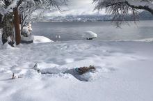 水深约423.4公尺的「田泽湖」,是日本最深的一处湖泊,这里是来到秋田县必访的景点,尤其每到了冬天,
