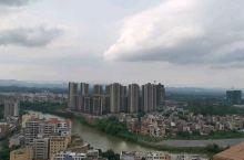 俯视罗定城区