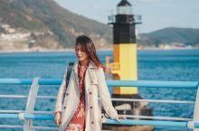 釜山 韩国秋天谈恋爱圣地  在釜山有个地方叫松岛天空步道,有非常著名的松岛海水浴场和海水缆车等等,超