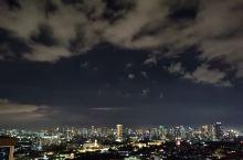 马尼拉的夜空云彩!