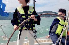 Shenzhen | 深圳帆船俱乐部初体验  帆船初体验!酷酷酷酷酷!  掌舵的感觉超级棒哈哈哈哈哈