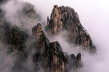 黄山北海,包括始信峰,石笋釭,狮子峰,黑虎松,梦笔生花,石猴观海等著名景点。2019大年三十前二日余