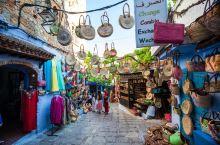摩洛哥蓝色小镇:网红打卡圣地