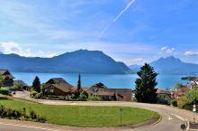 """瑞士的瑞吉山(Rigi)和我们中国的峨眉山于2009年结为姐妹山。当我们看到""""峨眉山""""的山石屹立在瑞"""
