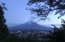 浅间神社看富士山