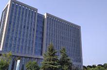 沛县政府大楼,很气派,颇具现代都市气息