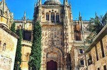 拥有神秘浮雕的大教堂  萨拉曼卡是一坐古老的城市,19世纪末,被选入世界遗产名录。而这里吸引我的却是