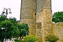 巴库老城的标志性建筑,少女塔!