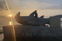 莺歌海,旅游胜地,太阳落下的美景