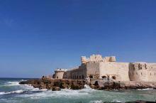 埃及亚历山大城灯塔 石头城