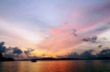去兰卡威一定要去坐帆船出海看夕阳 完美!!!!