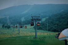 吉林市万科滑雪场夏季美翻了天