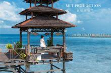 仙本那旅拍-马步岛SWV水屋度假村  出大片的好地方哦  MET寰球旅拍