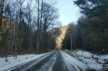 初冬自驾游互助北山林场