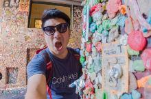 全世界最恶心的景点!西雅图小众打卡攻略:口香糖墙,被评为全世界最恶心的景点……但是不来这里打卡就不算