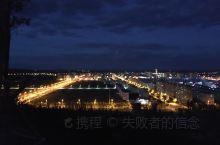 壮美翁牛特-乌丹 夜晚-敖包山 俯视大乌丹、壮观