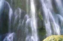 广西古龙山大峡谷三叠瀑布,一个非常唯美的瀑布!