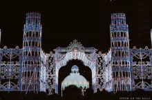 神户彩灯节,点亮圣诞气氛 12月7日,日本神户,一年一度的冬季盛宴神户彩灯节(Kobe Lumina