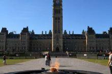 带你游加拿大~渥太华国会山庄 渥太华打卡点: 国会大厦  ,渥太华国会山庄, 国会大厦 渥太华·安大