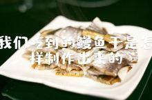 天气越冷,海鳗鱼越肥,下午在嵊山岛渔村,看渔民杀鱼晾晒,趁着冬季干燥的气候和清凉的海风,储备优质的春