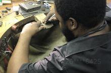 南非的工匠手工镶嵌工艺