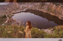 广州周边游|东莞小众景点白石山,赏日出日落  地址:#白石山采石遗址#  东莞一个很小众的地方,出片