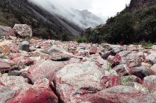 红石滩植被茂密,空气富含氧和负离子,这里的石头无论大小,都呈艳丽的铁锈红。阳光下,这些红石头在溪流间