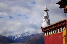 甘南的佛寺