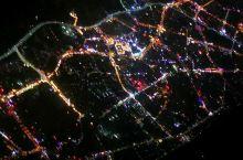 靓丽普洱 夜晚俯瞰普洱市,整个普洱夜景漂亮啊