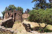 埃塞俄比亚,贡德尔,皇家领地。世界文化遗产。这里是法斯拉达斯王及继任者,在16世纪-17世纪修建的城