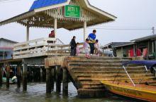 2019.11.10印尼巴厘岛时间09:30,回顾昨日文莱 第五站泛舟文莱河,走访水上人家。从码头乘