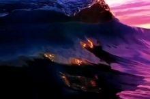 关于大海的色彩,视频来自ins:Robbie Crawford