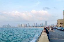 以色列特拉维夫海滩的早晨