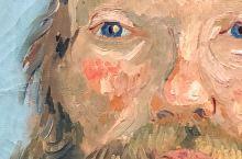 【底特律艺术博物馆】底特律艺术博物馆的梵高自画像值得推介。眼神轻蔑、迷惑而惊恐,也充满距离感,但又柔