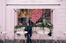 【燃爆少女心,伦敦粉色甜品店Peggy Porschen】 童话里的粉色蛋糕店,小公主的梦幻打卡地,