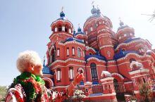 老母第一次和教堂的亲密接触:俄罗斯伊尔库斯克/喀山圣母大教堂